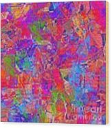 1248 Abstract Thought Wood Print
