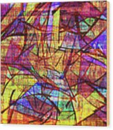1261 Abstract Thought Wood Print