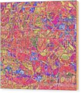 1262 Abstract Thought Wood Print