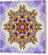 The Kaleidoscope Wood Print