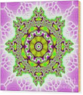 The Kaleidoscope Wood Print