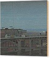 12th Street Bridge  Kansas City Missouri Wood Print