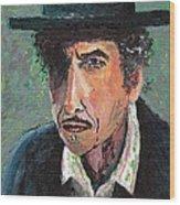 #13-16 Bob Dylan Wood Print