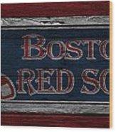 Boston Red Sox Wood Print