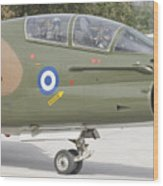 Hellenic Air Force Ta-7 Corsair II Wood Print