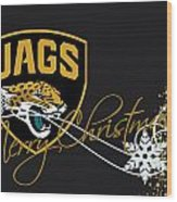 Jacksonville Jaguars Wood Print