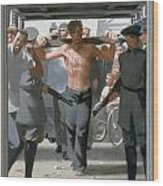 13. Jesus Goes To His Execution / From The Passion Of Christ - A Gay Vision Wood Print