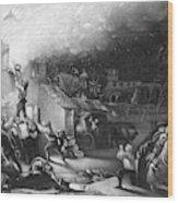 John Wesley (1703-1791) Wood Print
