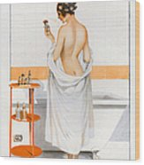 La Vie Parisienne  1916 1910s France Cc Wood Print by The Advertising Archives