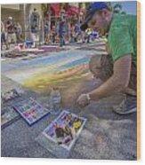 Lake Worth Street Painting Festival Wood Print