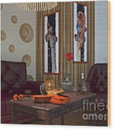 My Art In The Interior Decoration - Elena Yakubovich Wood Print