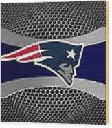 New England Patriots Wood Print