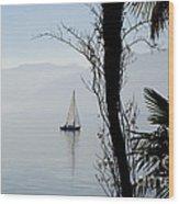 Sailing Boat Wood Print
