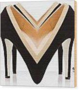 Shoe Love Wood Print
