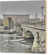 Stokholm  Swiss Wood Print