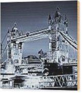 Tower Bridge Art Wood Print