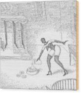 New Yorker December 25th, 2006 Wood Print