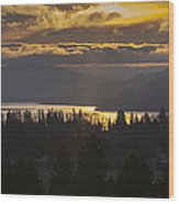 131127a-18 Sandpoint Winter Sunrise Wood Print