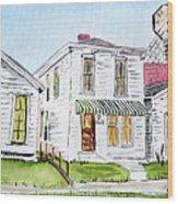 1327 Woerner Ave Wood Print