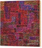 1346 Abstract Thought Wood Print