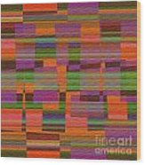 1365 Abstract Thought Wood Print
