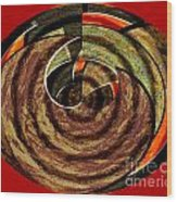 1396 Abstract Thought Wood Print