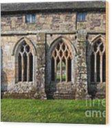 13th Century Abbey Wood Print
