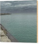 Breakwater Wood Print