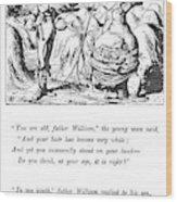 Carroll Alice, 1865 Wood Print