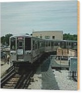Cta's Retired 2200-series Railcar Wood Print