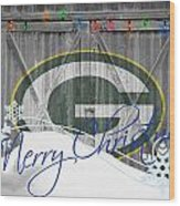 Green Bay Packers Wood Print