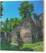 Hdr - Harpers Ferry Wood Print