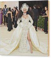 Heavenly Bodies: Fashion & The Catholic Imagination Costume Institute Gala - Arrivals Wood Print