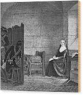 Marie Antoinette (1755-1793) Wood Print