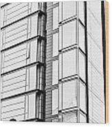 Modern Building Wood Print