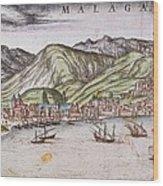 Ortelius, Abraham 1527-1598 Braun Wood Print