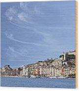 Porto Venere Wood Print by Joana Kruse