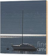Sailing Boat Wood Print