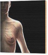 The Cardiovascular System Female Wood Print