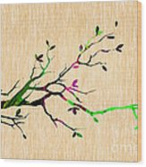 Tree Branch Collection Wood Print