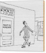 New Yorker April 24th, 2006 Wood Print