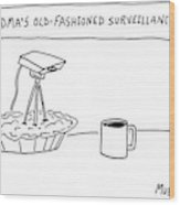 New Yorker December 17th, 2007 Wood Print