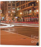 1400 New York Downtown Dc Wood Print