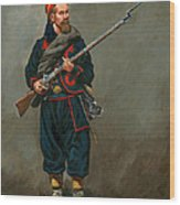 140th New York Infantry  Wood Print