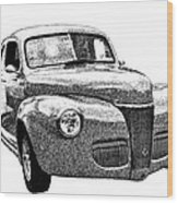 1941 Ford Coupe Wood Print