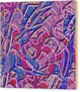 1412 Abstract Thought Wood Print