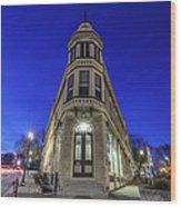 1417 Underwood Ave Wood Print