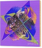 1422 Abstract Thought Wood Print