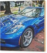 2014 Chevrolet Corvette C7 Wood Print