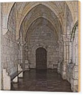 Ancient Spanish Monastery Wood Print